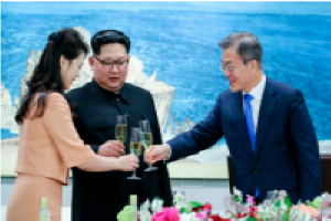 Kim Says He'll Give Up Weapons if U.S. Promise Not to Invade. North Koria and South Koria.Copyright InterConsult21.