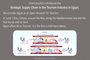 Strategic Supply Chain. Tourism Industry in Egypt. Copyright © InterConsult21.