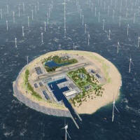 Artificial Energy Island. Copyright © InterConsult21.